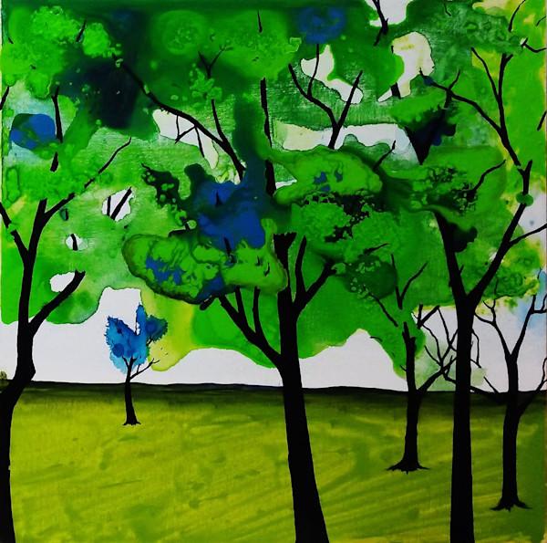 The Greens II by Briar Emond | SavvyArt Market original painting