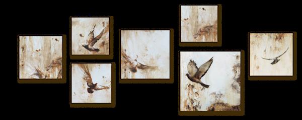 Pigeon Art Wall