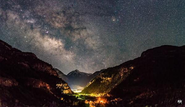 Markus Van Meter Adventure Photography | Night Lights Over Ouray