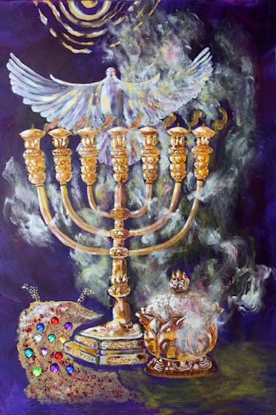 """The Burning"" by Sharon Adams | Prophetics Gallery"