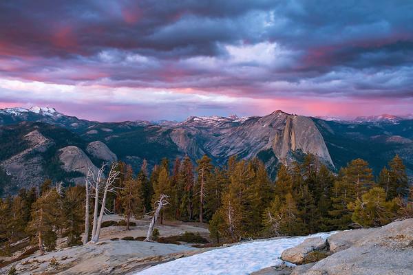 An Evening view of the High Sierra