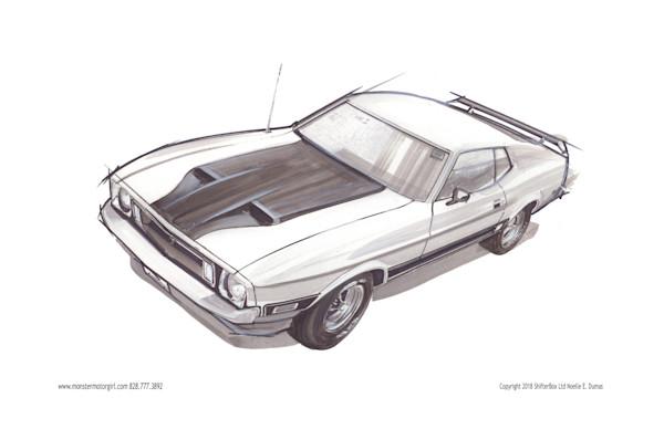 1973 gt500 mustang