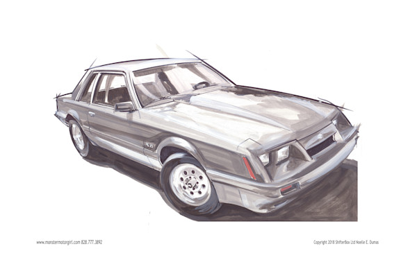 84 mustang coupe