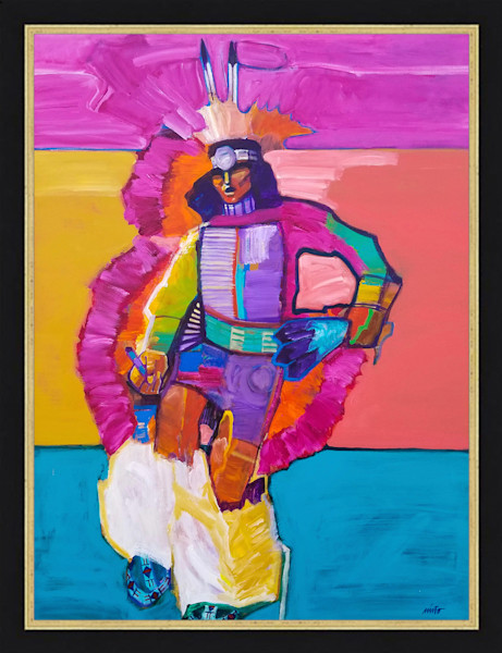 Feather Dancer | John Nieto Original Painting