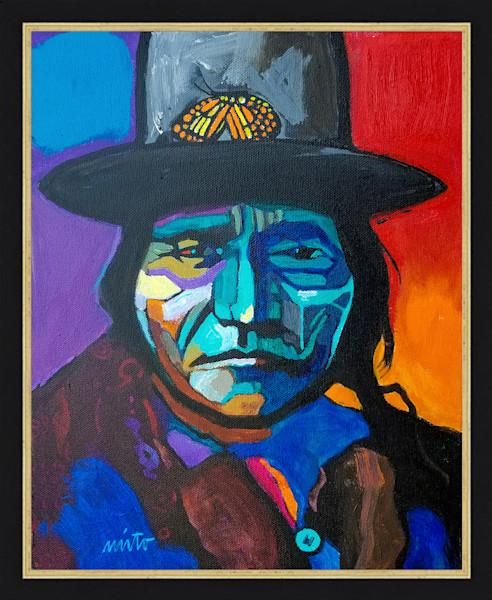Chief Sitting Bull | John Nieto Original Painting
