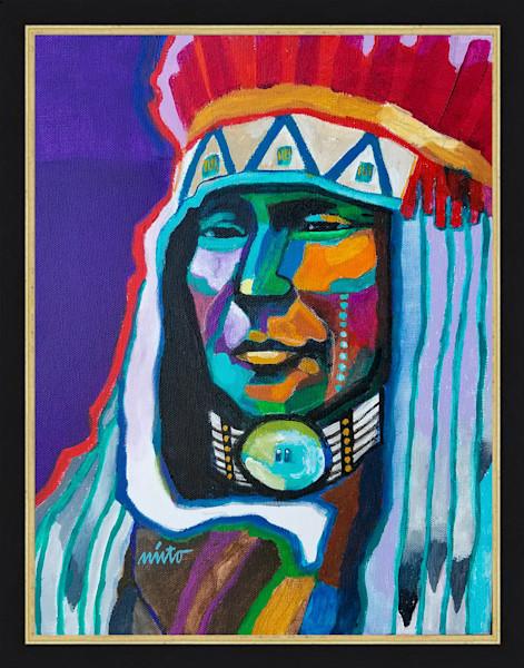 Chief Rain in the Face | John Nieto Original Painting