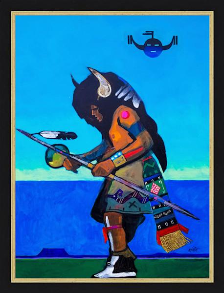 Buffalo Dancer | John Nieto Original Painting and Artwork