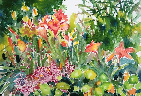Summer Lilies at the Garden