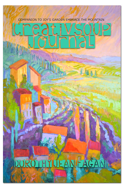Inspirational Artist Art Journal, CreativSOUP by Dorothy Fagan