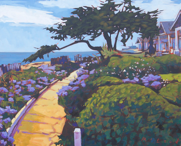"Ocean Garden, 16"" x 20"" original oil on canvas painting by Matt McLeod."