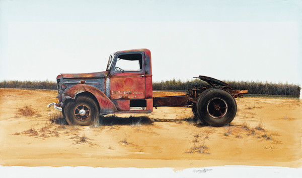 England, Truck, Scan