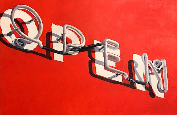 Open by Brigitte Nowak | SavvyArt Market original art