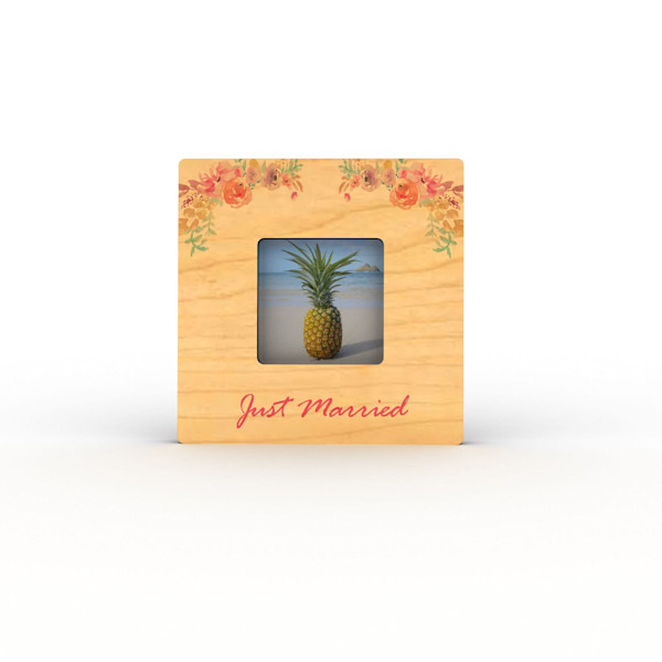 Just Married Mini Frame