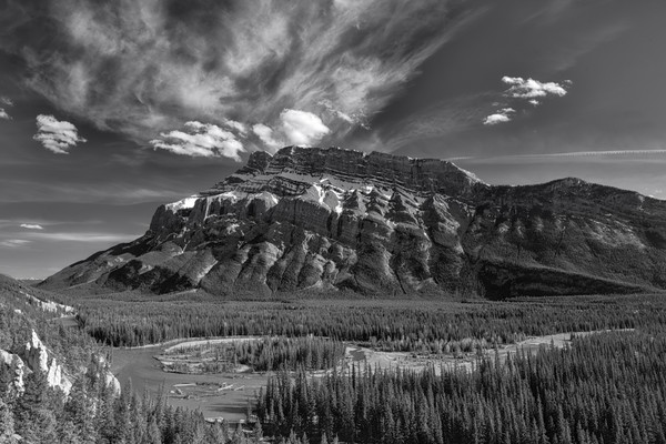 Stately Stands.Rundle|Banff national Park|canadian Rockies|Rocky Mountains|