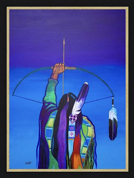 Medicine Arrow | John Nieto Original Painting and Artwork