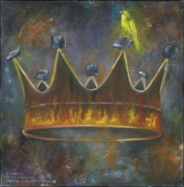 """Crown V The Air I Breathe"" by Denise Dahlheimer 