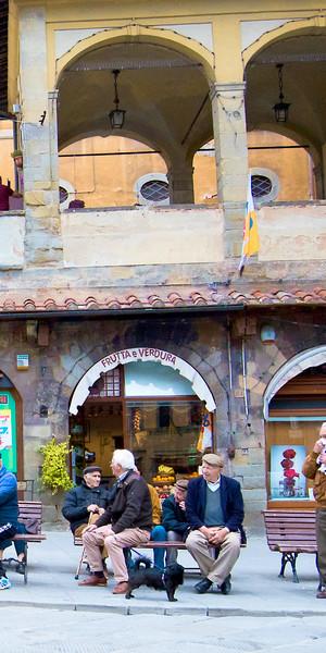 Art Photography of Tuscany, San Gimignano, DSC_4273 Cortona, Gentlemen Watching