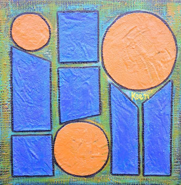 Blue Skies & Bright Sun by Sheryl Keen | SavvyArt Market original painting