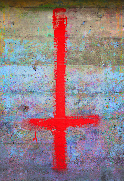 Cross To Bear|Fine Art Photography by Todd Breitling|Graffiti and Street Photography|Todd Breitling Art