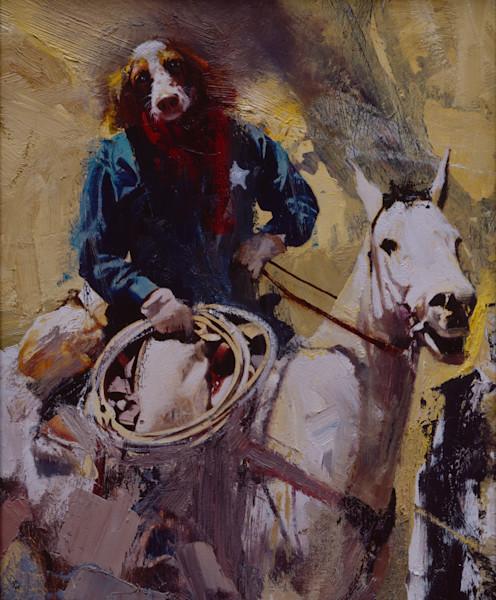 Dog Man Cowbdoy