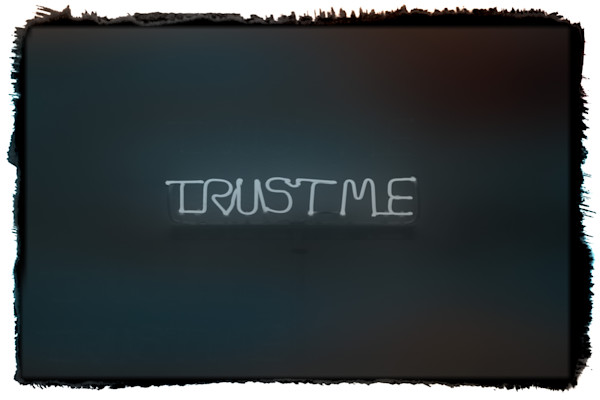 Trust Me|Fine Art Photography by Todd Breitling|Flags and Signs|Todd Breitling Art|