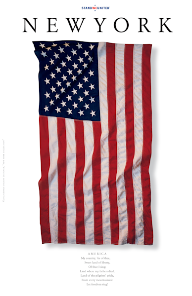 New York AMERICA Poster