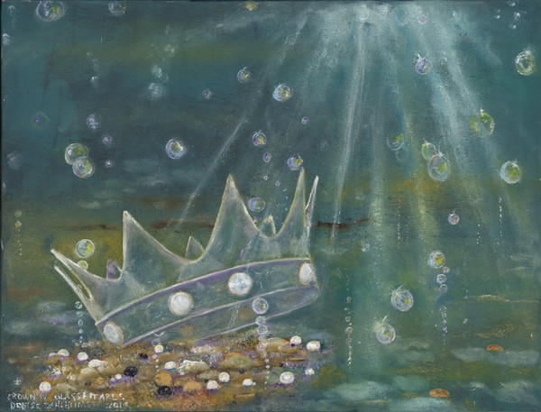 """Crown IV of Glass And Pearls"" by Denise Dahlheimer 