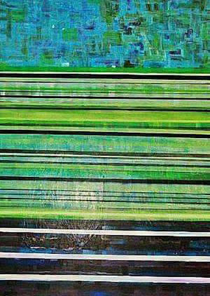 LCD Pix 02 by Briar Emond | SavvyArt Market original painting