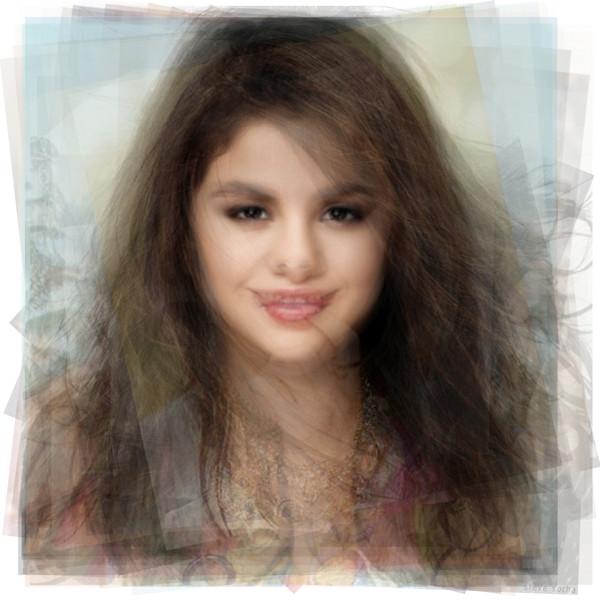 Overlay art – contemporary fine art prints of Selena Gomez