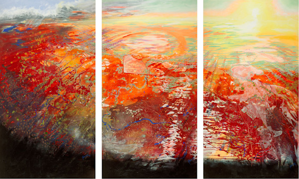 This Sacred Place - Triptych on Fine Art Canvas