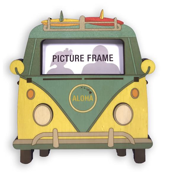 Van Cutout Mini Frame