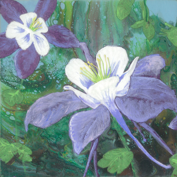 Choose Your Favorite Flowers! Mixed Media Art