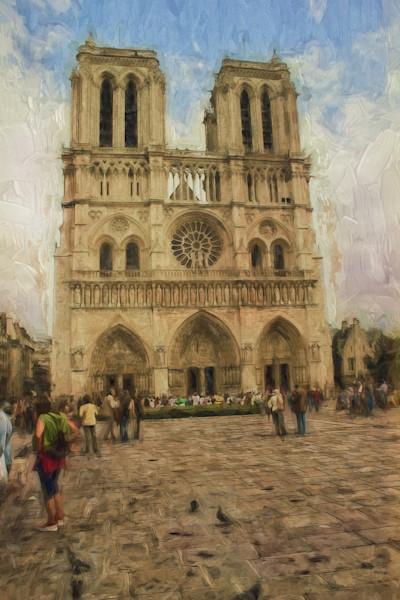 Notre Dame cathedral Paris France
