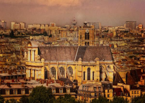 Four Images of Paris France
