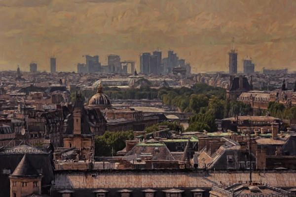 The old City of Paris