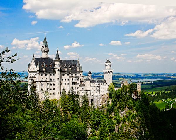 The Castle Disney copied