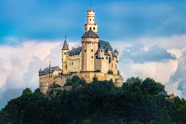 Majestic Castle on the Rhine
