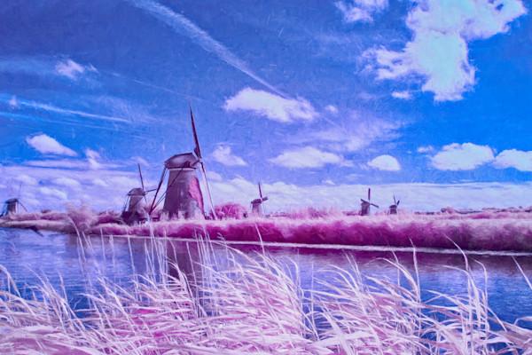 Kinderdijk the windmills