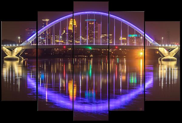 Purple - Minneapolis Panel Art | William Drew Photography