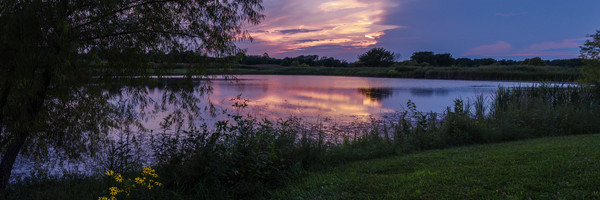 On Golden Pond Panoramic