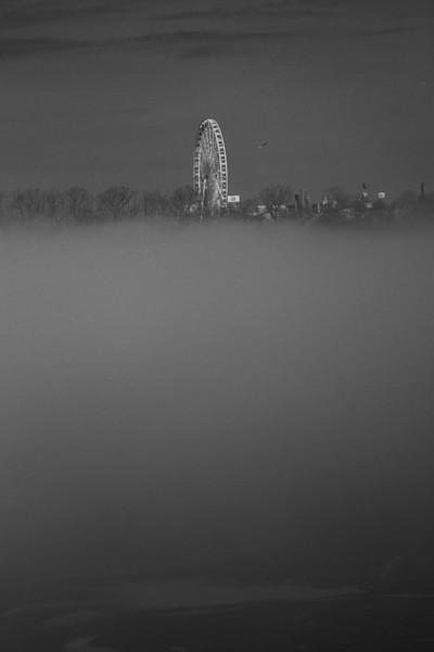 Foggy morning over Niagara