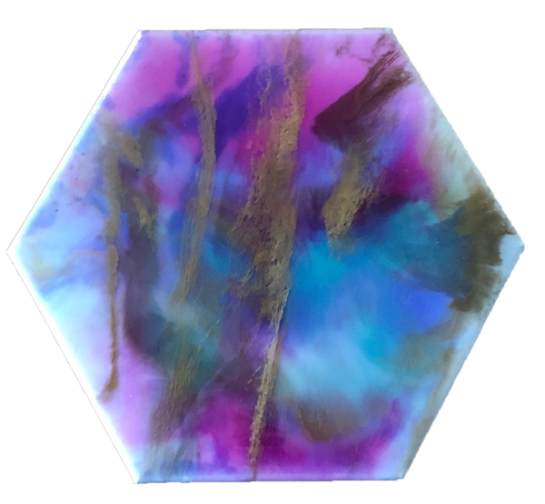 """Northern Lights"" - 3D Liquid Resin Art"