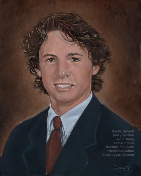 Portrait of Ricky Whalen
