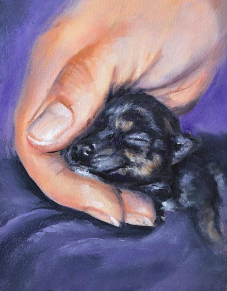Bottle Baby Rescue Dog