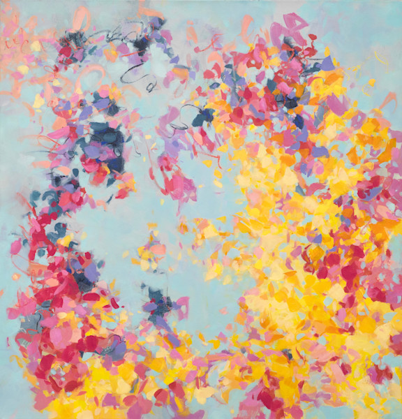 Cultivating Growth is an archival pigment print made from an original oil on canvas by Cameron Schmitz