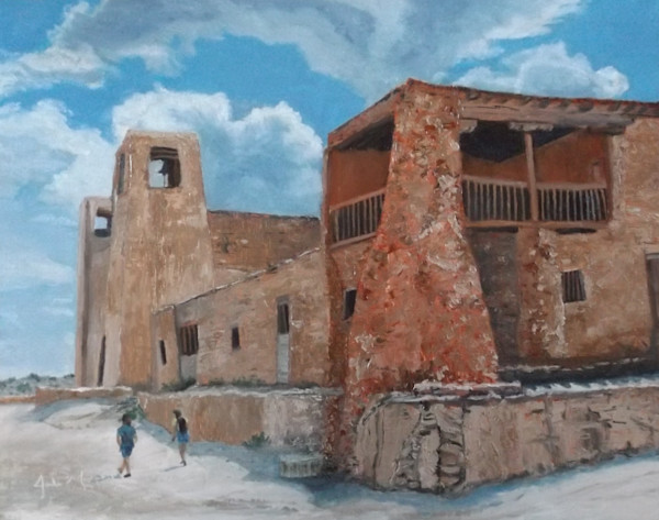 """San Esteban del Rey Mission 2""  by Jodi Murphy 