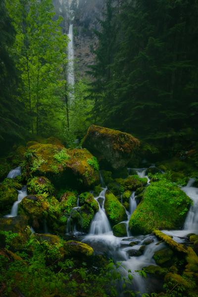 Emerald Falls - Umpqua Nat'l Forest, Oregon