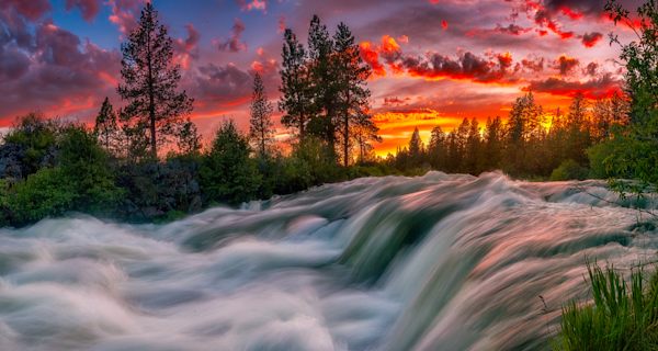 Spellbound - Deschutes River, Central Oregon