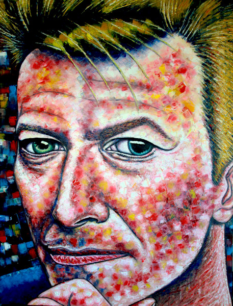 Changes PMS David Bowie Painting