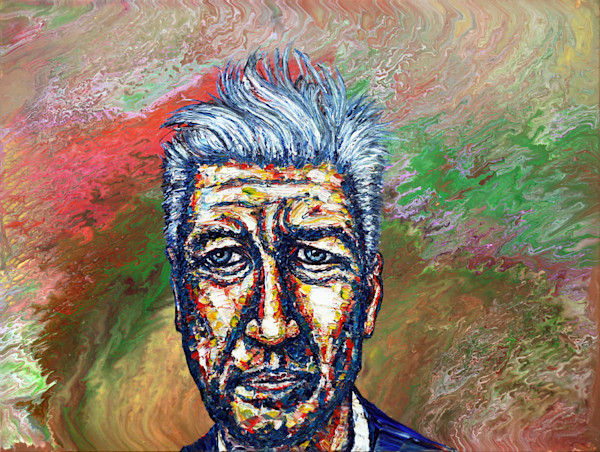 David Lynch, Transcendental Man painting